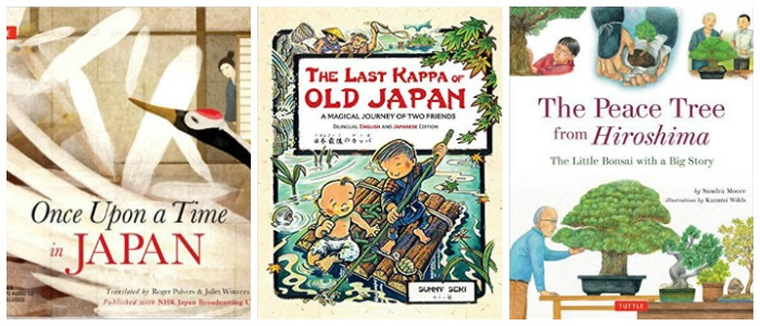 Japanese storybooks for kids at Castle View Academy homeschool