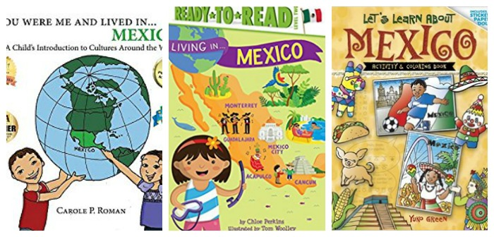 Learn about Mexico with books at Castle View Academy homeschool