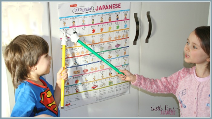 Learning Japanese at Castle View Academy with Tuttle Publishing