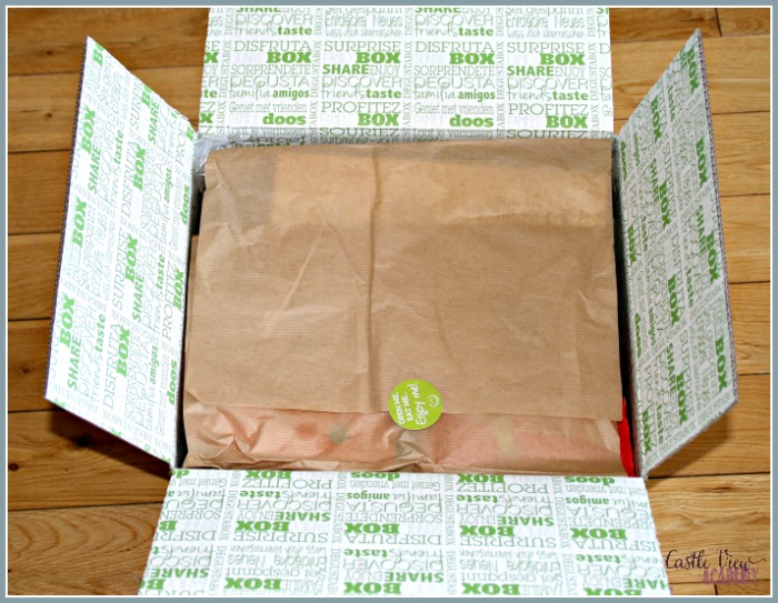 What's in this month's Degustabox at Castle View Academy homeschool