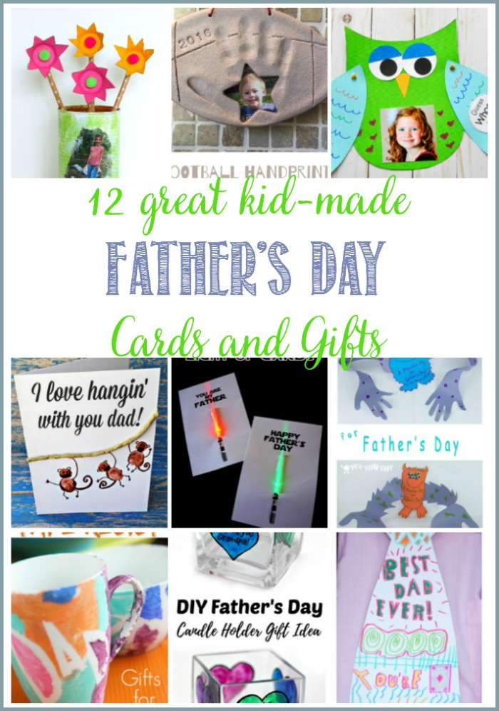 12 Great Kid-Made Father's Day Cards and Gifts at Castle View Academy homeschool