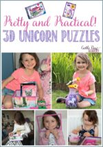 3D Unicorn Puzzles; Pretty and Practical!