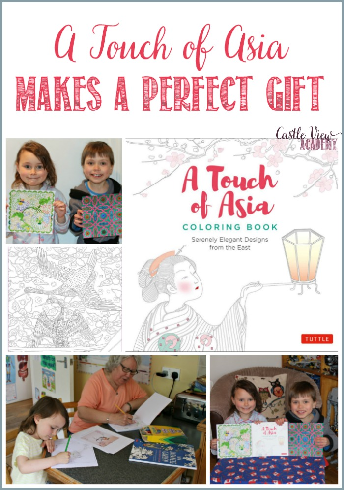 A Touch of Asia Makes A Perfect Gift at Castle View Academy homeschool