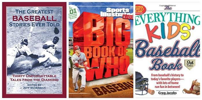 Baseball books for kids at Castle View Academy homeschool