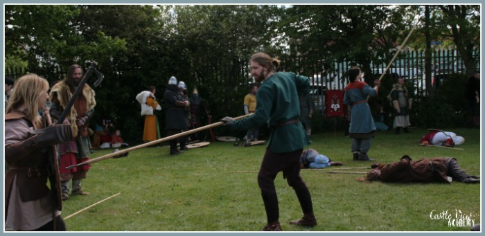 Battle amongst the Vikings in Portadown with Castle View Academy homeschool