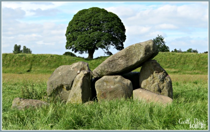 Belfast's Giant's Ring Dolmen as seen by Castle View Academy homeschool