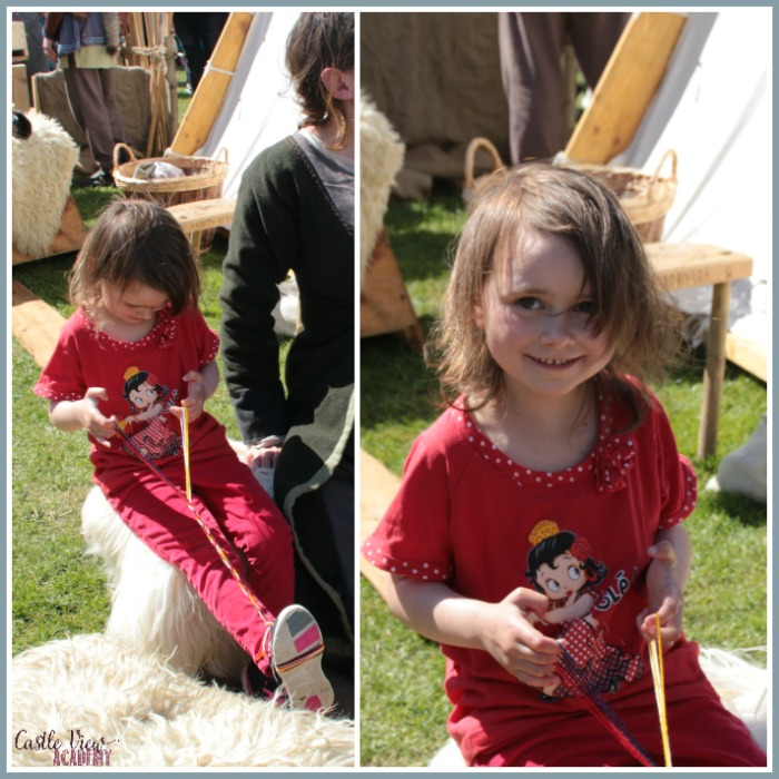 Braiding like the Vikings in Portadown with Castle View Academy homeschool