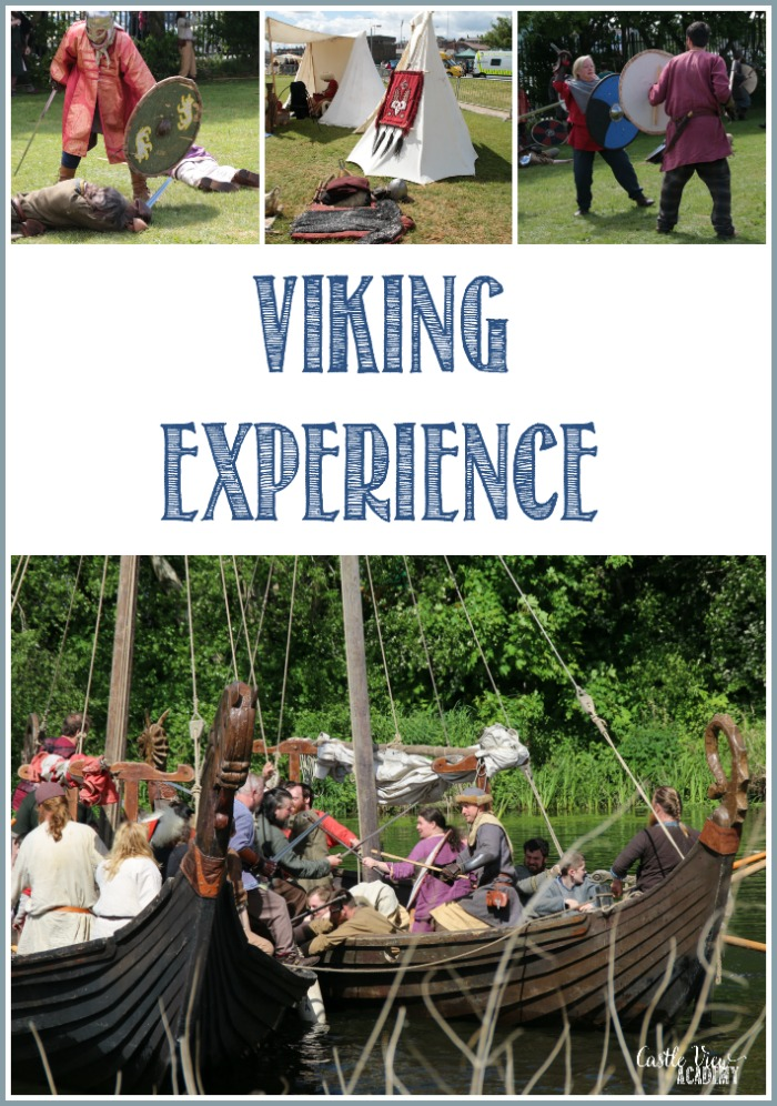 Castle View Academy homeschool has a Viking Experience