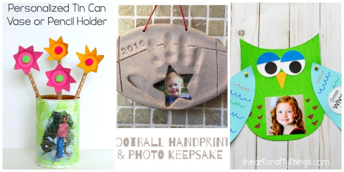 Father's Day gifts using photos at Castle View Academy homeschool