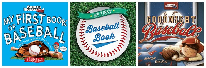 First Baseball books for kids at Castle View Academy homeschool