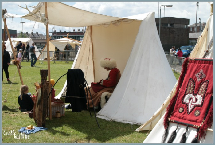 First Look at the Viking Festival in Portadown with Castle View Academy homeschool