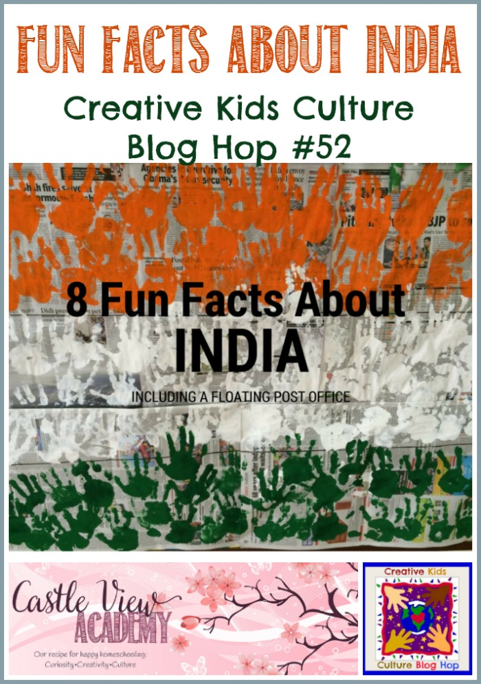 Fun Facts About India at Castle View Academy homeschool CKCBH