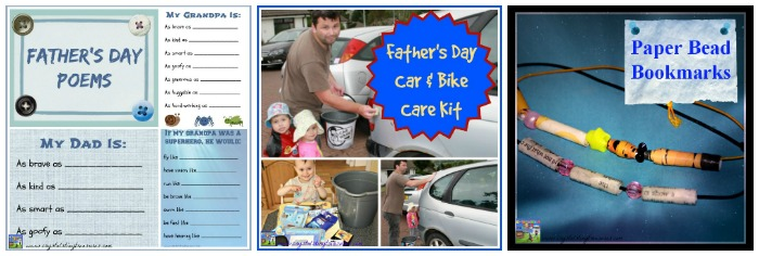 Fun and practical Father's Day gifts by Castle View Academy homeschool