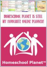 Homeschool Planet Is Still My Favourite Online Planner!