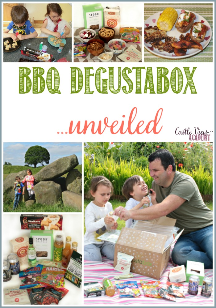June BBQ Degustabox unveiled at Castle View Academy Homeshool