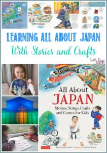 Learning All About Japan With Stories and Crafts at Castle View Academy homeschool, a review
