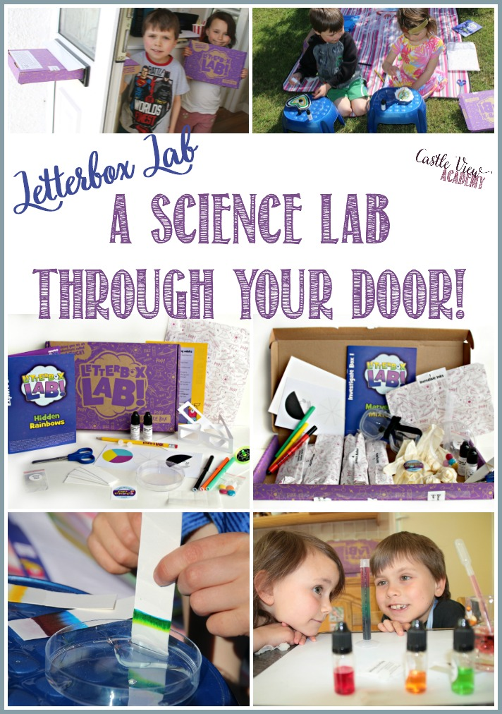 LetterBox Lab Sends Science Through Your Door! A review by Castle View Academy homeschool