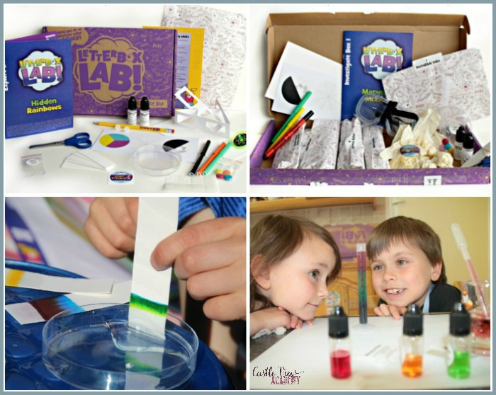 LetterBox Lab Sends Science Through Your Door! Castle View Academy homeschool