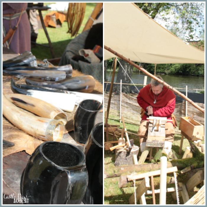 Portadown Viking Festival with Castle View Academy homeschool