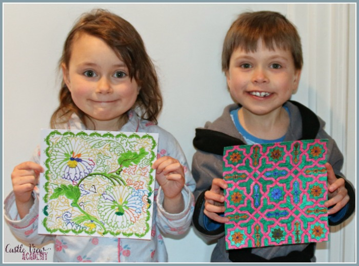 Pretty pictures for Nana at Castle View Academy homeschool