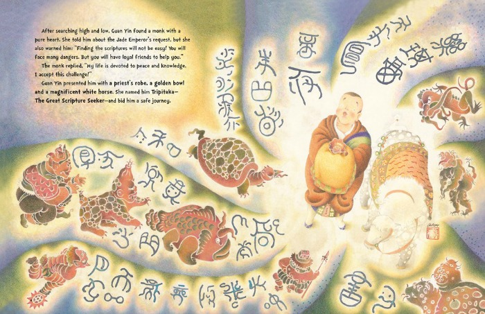 Sample page from The Monkey King