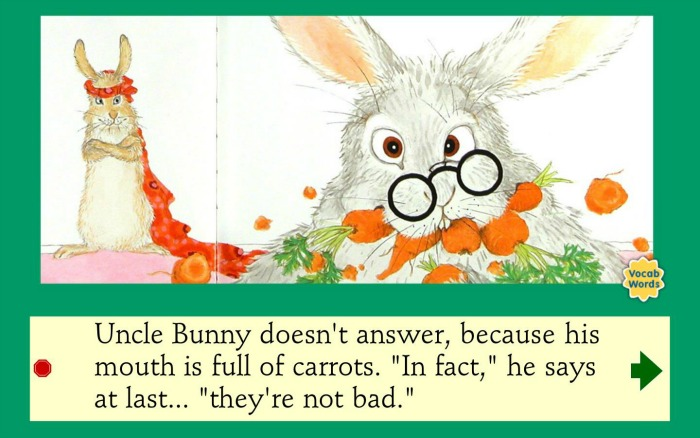 The Rabbit Food One More Story reviewed at Castle View Academy homeschool