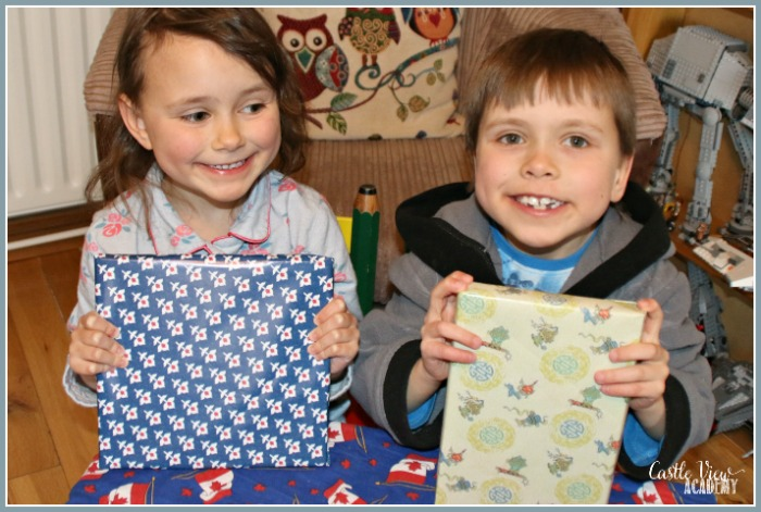 The perfect gift for Grandma is all wrapped up at Castle View Academy homeschool