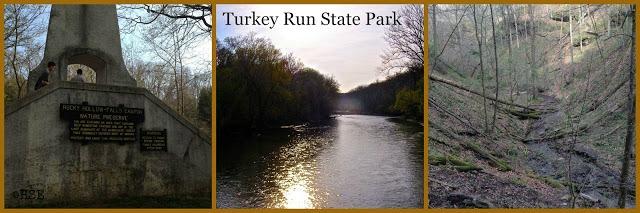 Turkey Run State Park in Indiana