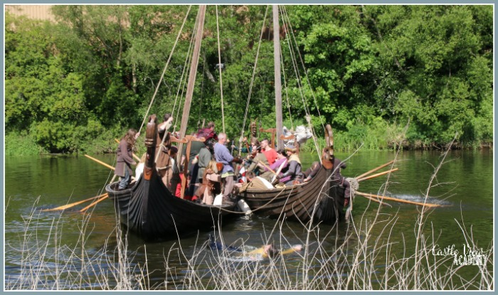 Viking longboat casualties in Portadown with Castle View Academy homeschool