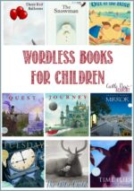 Wordless Books For Children on What To Read Wednesday and a Linky Party