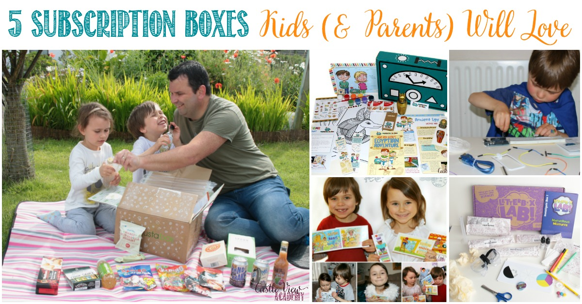 5 Subscription Boxes Kids (& Parents) Will Love