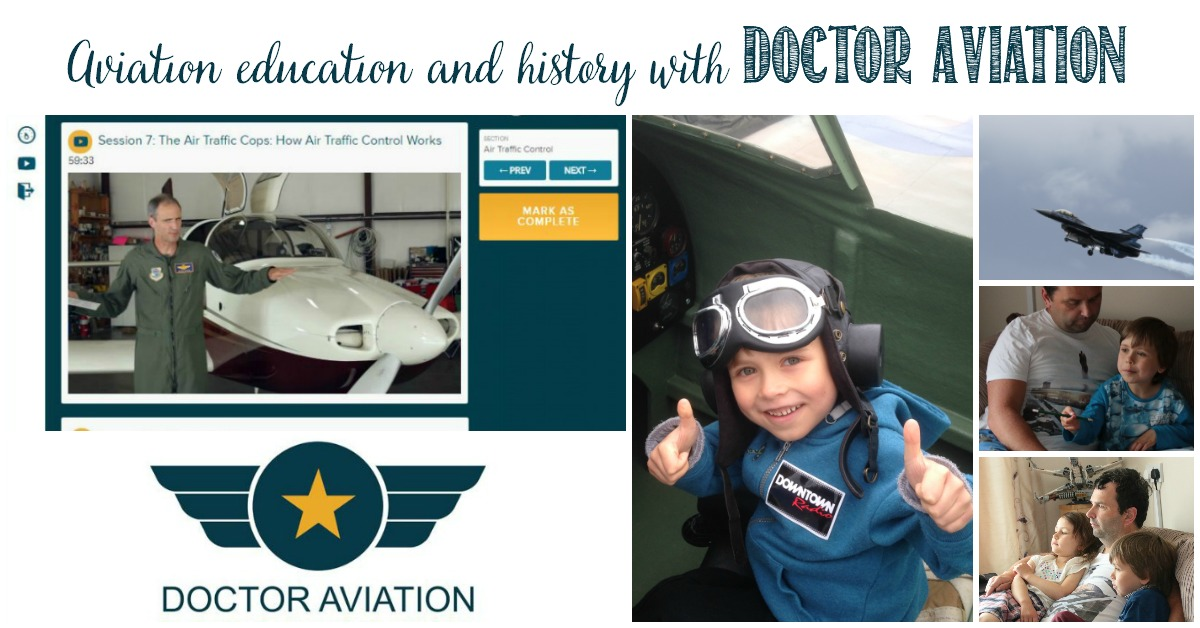 Aviation education and history With Doctor Aviation at Castle View Academy homeschool