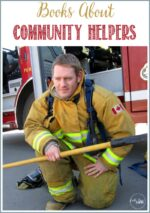 Books About Community Helpers on WTRW linky