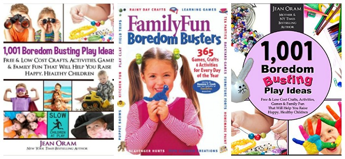 Boredom busting ideas at Castle View Academy homeschool