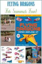 Flying Dragons For Summer Fun with Castle View Academy homeschool