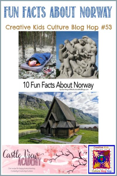 Fun Facts About Norway on the Creative Kids Culture Blog Hop at Castle View Academy