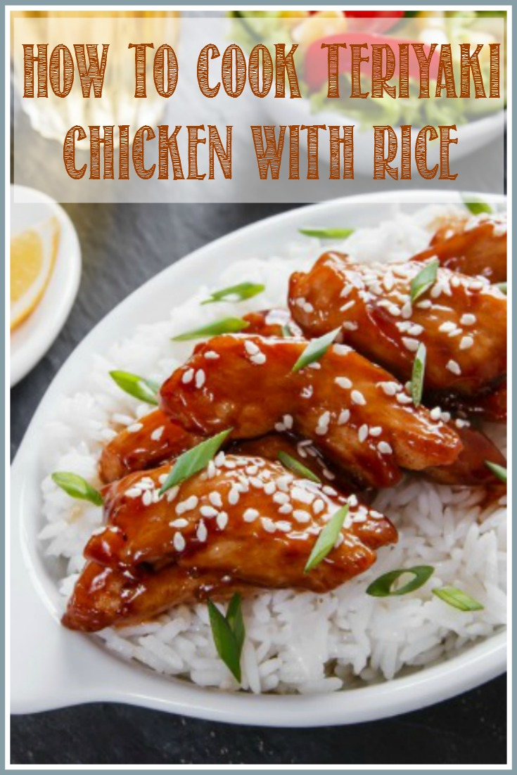 Learn how to cook one of Japan's most popular dishes, teriyaki. This teriyaki chicken with rice recipe is delicious and easy to prepare.