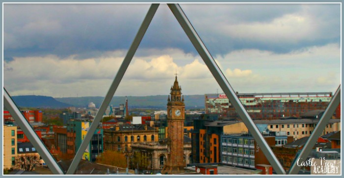 Leaning Albert Clock in Belfast is like the Leaning Tower of Pisa built over a river at Castle View Academy homeschool