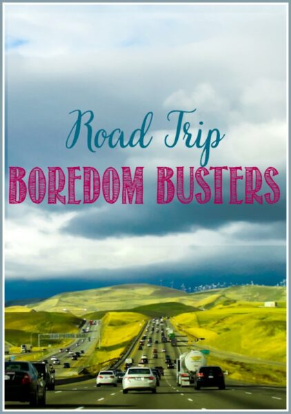 Road Trip Boredom Busters at Castle View Academy homeschool