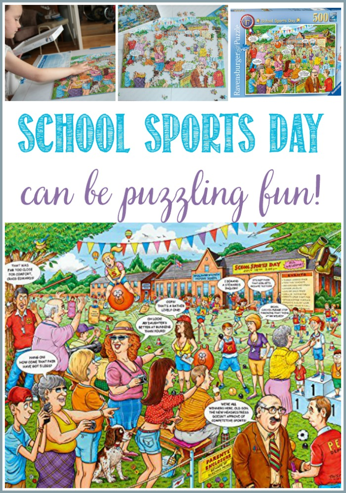 School Sports Day Can Be Puzzling fun at Castle View Academy homeschool