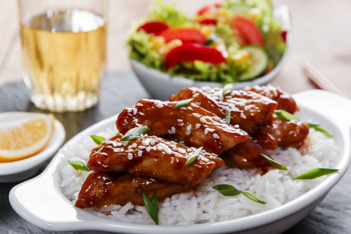 Teriyaki Chicken With Rice is a simple Japanese recipe