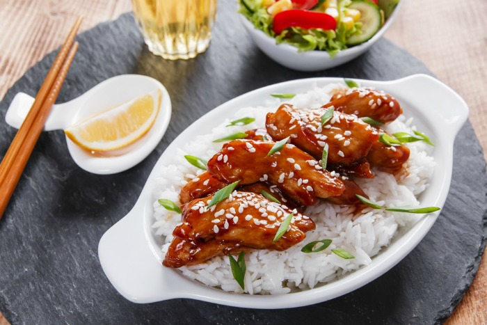 Teriyaki Chicken With Rice is easy to make