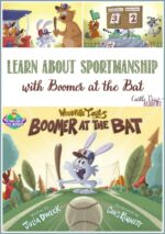 Using Boomer at The Bat to learn about good sportmanship, a review by Castle View Academy homeschool