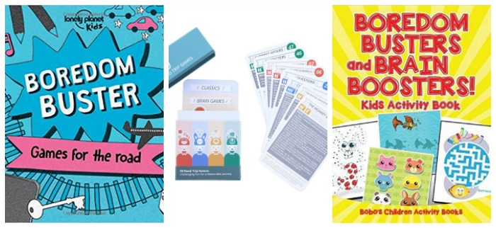 boredom busting games for kids at Castle View Academy homeschool