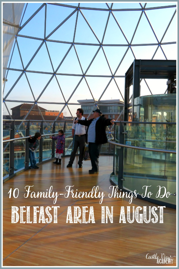 10 Things For Families To Do In The Belfast Area In August and all year round! From great views & forest walks to traditional Irish music, have some fun!