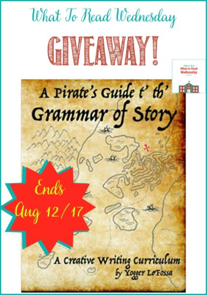 A Pirate's Guide t' th' Grammar of Story Giveaway
