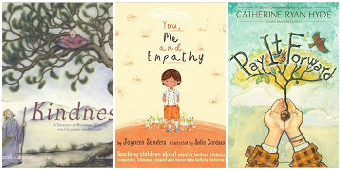 Books about kindness for children at Castle View Academy homeschool