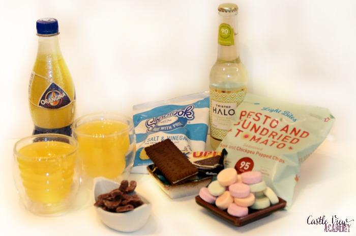 Degustabox back to school treats enjoyed at Castle View Academy