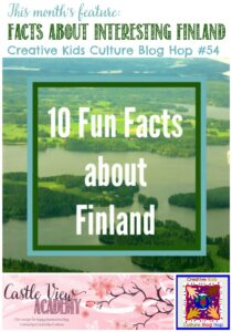 Facts About Interesting Finland on CKCBH and Castle View Academy homeschool