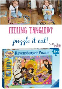 Feeling Tangled Puzzle It Out! A review by Castle View Academy homeschool